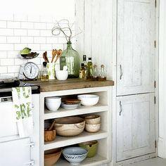 #kitchen #shelving #masonjars