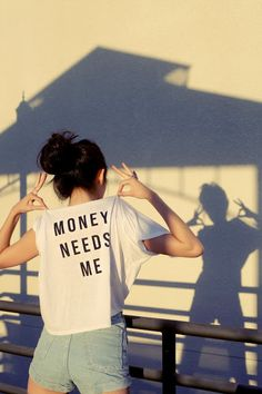 money need me and i need money <3 were the perfect couple no?
