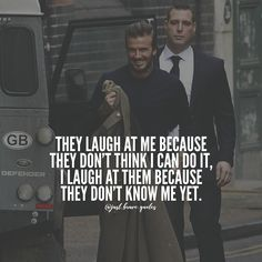 They don't know what's coming to em'. #justbravequotes #davidbeckham #quotes #motivation