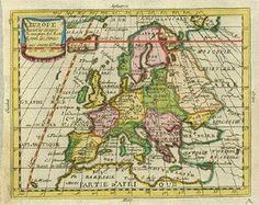 Antique Maps of Europe