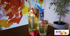 Eine leckere Erdbeer-Limette-Minze Bowle, ideal als Sommergetränk für Kinder