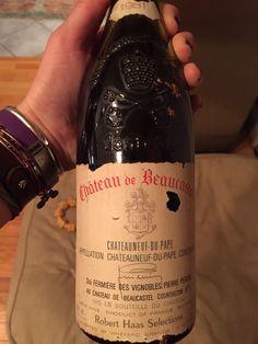 """"""".@TablasCreek @Beaucastel @jasonchaas @Vineyard_Brands, this gem showed up yesterday, beautiful bottle!"""""""