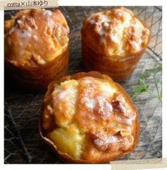 くるみとパイナップルのザクザクマフィン | お菓子・パンのレシピや作り方【corecle*コレクル】