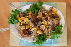 Need a great family dinner that everyone will eat? This one is a jackpot winner of a recipe: Chicken with Potatoes, Lemon and Oregano. It's simple and delicious.