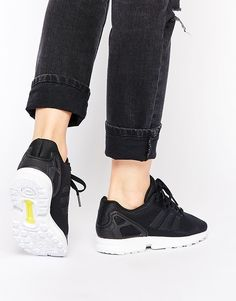 adidas Originals - ZX Flux - Baskets - Noir shoping tenuedujour lookdujour mode femme ete achat fashion mignon jolie tendance ootd luxe chaussures baskets