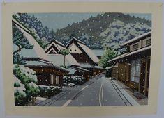 Masao Ido: #P4593 TORIIHON NO FUYU - TORIIHON IN WINTER