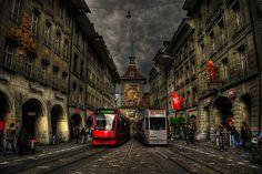 Bern, the capital city of Switzerland