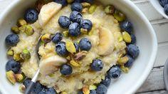 Coconut Millet w/ Blueberries