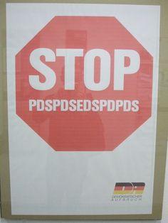 Demokratischer Aufbruch/Democratic Awakening, East Germany 1990 (Angela Merkel was party spokesperson)