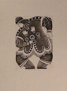 Kulik Art Inuit - Shaman's Apprentice - Germaine Arnaktauyok - 2007 Arte Inuit, Canadian Art, First Nations, Illustrations, Native American, Folk, Carving, Shamanism, Sculpture