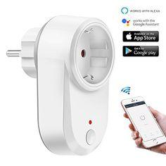 Intelligent Prise Wifi sans fil Plug travail avec Alexa / Google Home App télécommande / commande vocale / fonction de synchronisation /…
