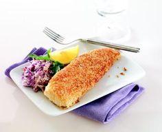 Sesame-Coated Cod Fillets
