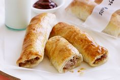 There's nothing better than homemade sausage rolls, and these can easily be made ahead and frozen.