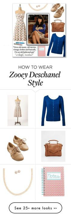 """Zooey Deschanel School Shoes"" by mmmartha on Polyvore"