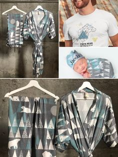 Mommy and me robe and swaddle set. Matching robe and swaddle set boy. Maternity robe and swaddle. Mom And Baby, Mommy And Me, Baby Boy, Papa Bear Shirt, First Baby Pictures, Nursing Scarf, Breastfeeding Cover, Toddler Outfits, Girl Outfits