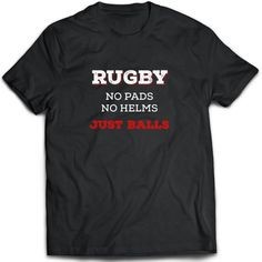 26c5f55e Rugby T-Shirt. Perfect Gift for Your Dad, Mom, Boyfriend, Girlfriend, or  Friend - Proudly Made in th