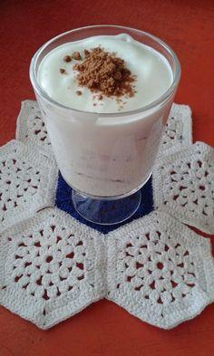 Tejfölkrémes-kekszes kehely Mousse, Trifles, Blanket, Crochet, Crochet Hooks, Blankets, Shag Rug, Crocheting, Comforters