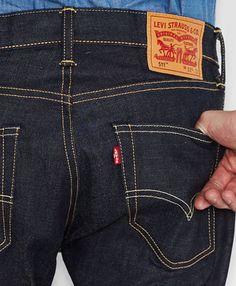 511™ Slim Fit Selvedge Jeans - Eternal Day - Levi s - levi.com 5b377d484f