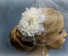 Wedding Gift Ideas Rustans : ... Bridal Hair Flower, Bridal accessories, Wedding headpiece Bridal