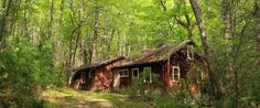 Hiker Discovers an Abandoned Town Inside Tennessee's Great Smoky Mountains National Park. Screen Shot at PM Old Abandoned Buildings, Abandoned Places, Spooky Places, Smoky Mountain National Park, Great Smoky Mountains, Ghost Towns, Places To See, National Parks, Around The Worlds