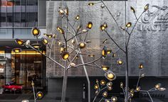 Known for its dramatic large-scale installations and equally inventive glass lights, Canadian design firm Bocci has created its first permanent outdoor public artwork in its hometown of Vancouver. Located at the foot of the city's artiest and chicest l...
