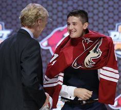 NHL Draft 2014 - the Arizona Coyotes choose Brendan Perlini with their 1st round
