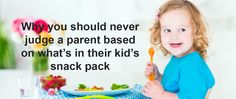 What a parent feeds their child is their business ... or is it?
