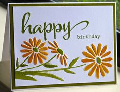 TLC489 Happy Birthday by hskelly - Cards and Paper Crafts at Splitcoaststampers