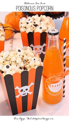 Halloween Treat - Poisonous Popcorn | Kim Byers, TheCelebrationShoppe.com