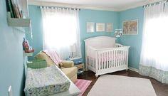 Decoração de quarto de bebê tema viagens - Personalidade é o que não falta nesse quarto de bebê feminino tema viagens cheio de aventuras e novidades.