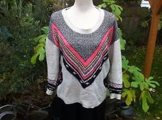 New Look Fair-isle Type Jumper Size S | eBay