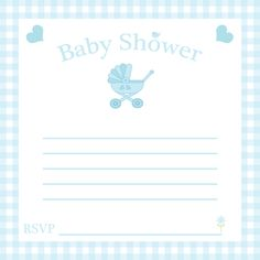 Baby Shower Meghívó