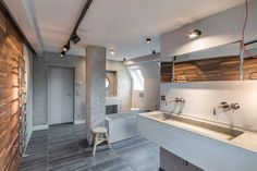 love this bathroom Teil 1 by Karhard Beton Design, Mawa Design, Design Projects, Design Ideas, Bathtub, House Design, Living Room, Studio, Bathroom