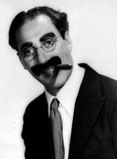 "Groucho Marx: ""I've had a perfectly wonderful evening, but this wasn't it."""