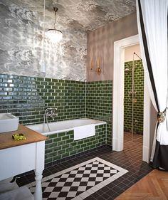 kacheln fliesen berlin berlin badezimmer grn hotelsuiten kamine berlin apartment berlin hotel berlin - Moderne Badezimmer Trkis