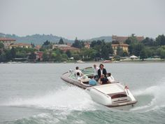 Riva Gucci on the Italian Lakes last September ~ The ultimate Classic Boating Lifestyle