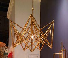 Golden Paris chandelier