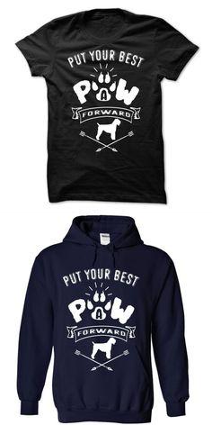 Dog Shirt Pattern Put Your Best A Paw Forward-black Russian Terrier #3 #dog #moon #t #shirt #dog #nerd #t #shirt #dog #t #shirt #india #mad #dog #10k #t #shirt