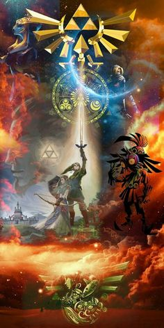 Legend of Zelda Ocarina of Time, Majora's Mask, Twilight Princess