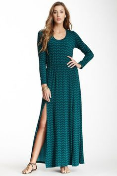 Veronica M Long Sleeve Maxi Dress by Non Specific on @HauteLook