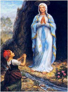 Virgen de Lourdes oración para peticiones urgentes