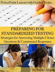 standardized test writing prompts