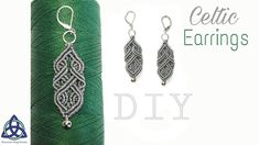 In this Macrame tutorial video you will see how to make Macrame Earrings Celtic Design Macrame Earrings Tutorial, Micro Macrame Tutorial, Earring Tutorial, Bracelet Tutorial, Diy Earrings, Macrame Bag, Macrame Necklace, Macrame Knots, Macrame Bracelets
