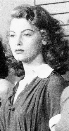 Ava Gardner in 1942