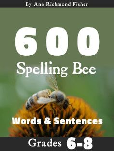 Our list of 300 grade spelling words is filled with words your students need to know. Find links to more grade spelling resources, too. Hard Spelling Bee Words, 7th Grade Spelling Words, Spelling Bee Word List, Spelling Word Practice, Spelling Homework, Spelling Worksheets, Spelling Activities, Printable Worksheets, Word Sentences