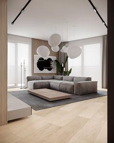 Living Room Modern, Living Room Interior, Home Living Room, Living Room Decor, Home Room Design, Living Room Designs, Deco Studio, Apartment Interior Design, Living Room Lighting