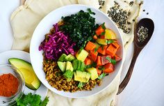 Curry Spice Vegetable and Grain Bowl Recipe - Life by DailyBurn