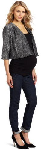 FASHION DUES & DUEN'TS - Contemporary Maternity Style Category   Everly Grey Women's Maternity Ruby Jacket