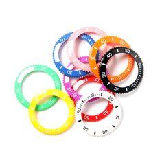 MYWAY bezel orange MYBZ001-OR horloge (gratis en uit voorraad geleverd) | http://www.kish.nl/MyWay-MyWatch-bezel-orange/