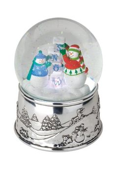 Reed and Barton Snow Cubes Musical Snow Globe - Listing price: $110.00 Now: $34.20 + Free Shipping